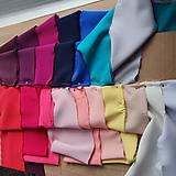 Šaty - Dlhé šaty na zvinovací štýl s dlhými rukávmi rôzne farby - 9459344_