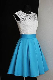 Šaty - Spoločenské šaty vo vingate štýle rôzne farby - 9459935_