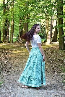 Sukne - Sukňa Flora - 9460880_
