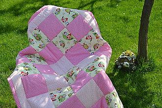 Textil - Lienky na záhrade - 9460129_