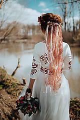 Ozdoby do vlasov - Závoj na hrebienkoch