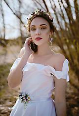 """Náušnice - Kvetinové náušnice """"láskou omámená"""" - 9460148_"""