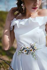 """Náušnice - Kvetinové náušnice """"láskou omámená"""" - 9460150_"""