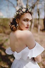 """Náušnice - Kvetinové náušnice """"láskou omámená"""" - 9460151_"""
