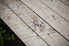 """Náušnice - Kvetinové náušnice """"láskou omámená"""" - 9461315_"""