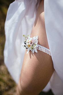 Bielizeň/Plavky - Kvetinový podväzok