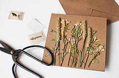 Papiernictvo - Pohľadnica z byliniek