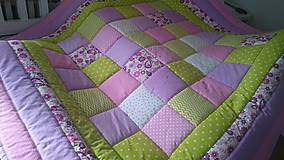 Textil - Patchwork deka - Somewhere over the Rainbow - 9465123_