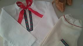 Detské oblečenie - Chlapčenský folkový odev - 9465150_