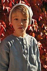 Detské oblečenie - Tunika HUGO dymovo zelená - 9465297_
