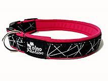 Pre zvieratká - Obojok Geo Pink - 9464381_