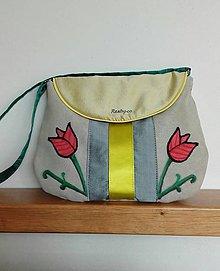 Kabelky - Folklórna taška - 9463992_