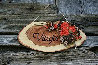 """Tabuľky - tabuľka""""Vitajte12"""" - 9463984_"""