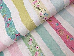 Textil - 100% kvalitna bavlna dovoz Francuzko - 9465112_