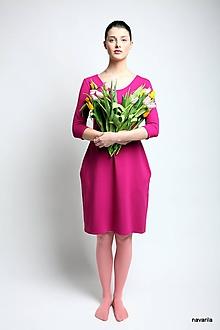 Šaty - šaty Báry -pouzdrové s kapsami - 9464134_