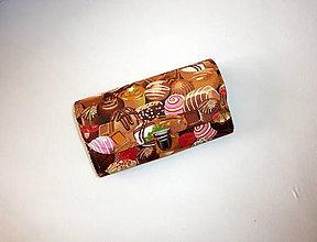 Peňaženky - Veľká peňaženka - organizér - 20 - 9462532_