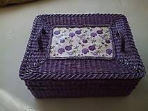 Košíky - Veľká krabica na všeličo - 9465230_