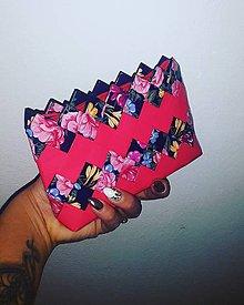 Peňaženky - Peňaženka flower - 9462567_