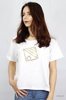 Tričká - Dámske tričko IO14 - 9463372_