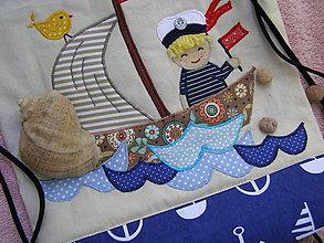 Batohy - RukSAčiK ... malý námorník - 9465840_