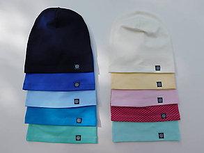 Detské čiapky - Jednovrstvová čiapka JIM - 9465441_