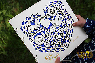 Papiernictvo - Svadobná kniha - fotoalbum - 9466460_