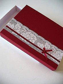 Krabičky - darčeková krabička - 9466261_