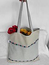 Nákupné tašky - Batoh, taška ľudová - 9467501_
