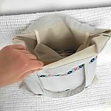 Nákupné tašky - Batoh, taška ľudová - 9467502_