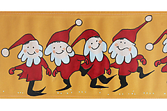 Úžitkový textil - Maľovaný obrus stredový - oranžový, 20 x 136 cm - 9467753_