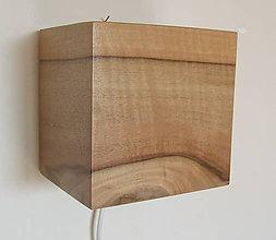 Svietidlá a sviečky - Lampa kocka - 9466868_