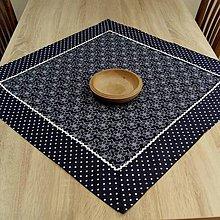 Úžitkový textil - Čaro modrej kuchyne - obrus štvorec - 9467229_