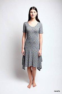 Šaty - letní šaty NURY s drobným vzorem - 9467032_