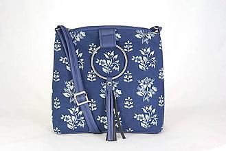 Kabelky - Lena modrá 1 SLOVENSKÁ KOLEKCIA - 9467165_