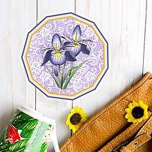 Pomôcky - Podšálka kvetová (s krajkou 2) - 9465848_