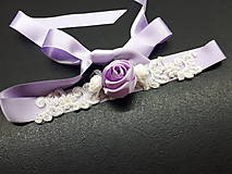 Opasky - Kvetinkový opasok - 9468896_