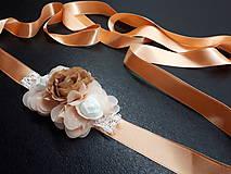 Opasky - Kvetinkový opasok - 9468963_