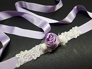 Opasky - Kvetinkový opasok - 9468891_