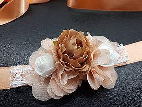 Opasky - Kvetinkový opasok - 9468935_