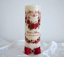 Svietidlá a sviečky - Výročie svadby - 9469769_