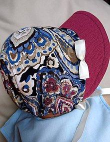 Detské čiapky - Letná čiapka so šiltom - 9468493_