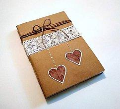 Papiernictvo - Kraftové zošity A5 - 2 kusy/ 100g papier - 9468236_