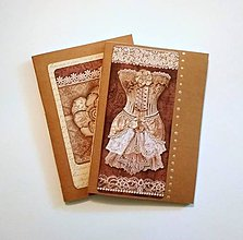 Papiernictvo - Kraftové zošity A5 - 2 kusy/ 100g papier - 9468269_