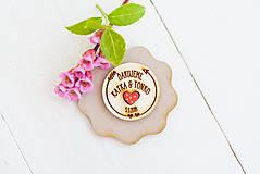 Darčeky pre svadobčanov - Spomienkový  DARČEK pre svadobčanov - 9468607_