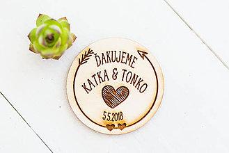 Darčeky pre svadobčanov - Spomienkový  DARČEK pre svadobčanov - 9468396_