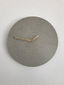 Hodiny - Betónové hodiny - PURE 30 (verzia 3) - 9468830_