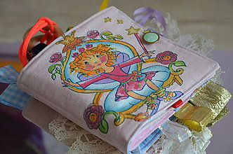 Hračky - Detská knižka látková - 9469292_