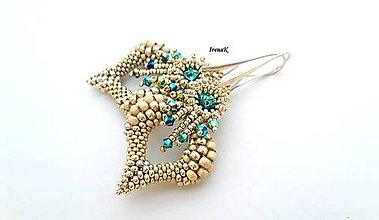 Náušnice - Wings mini - 9469467_