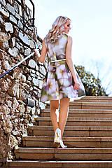 Šaty - Růže - 9468174_
