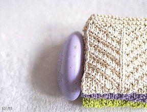 Úžitkový textil - ručne pletené žinky - 9468967_